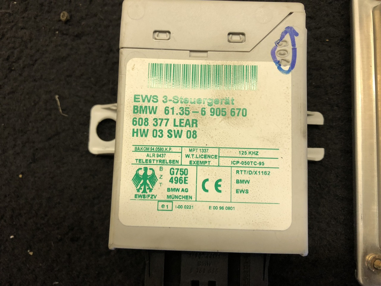 E46 Complete EWS Key Kit With DME