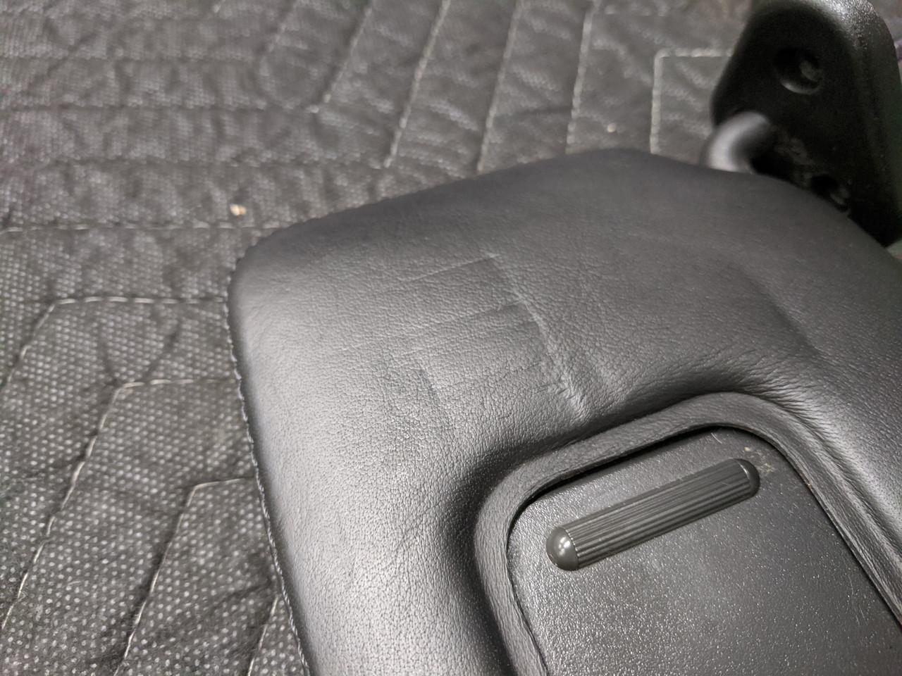 BMW E64 M6 Sun Visor Left Driver Schwarz 51167894969