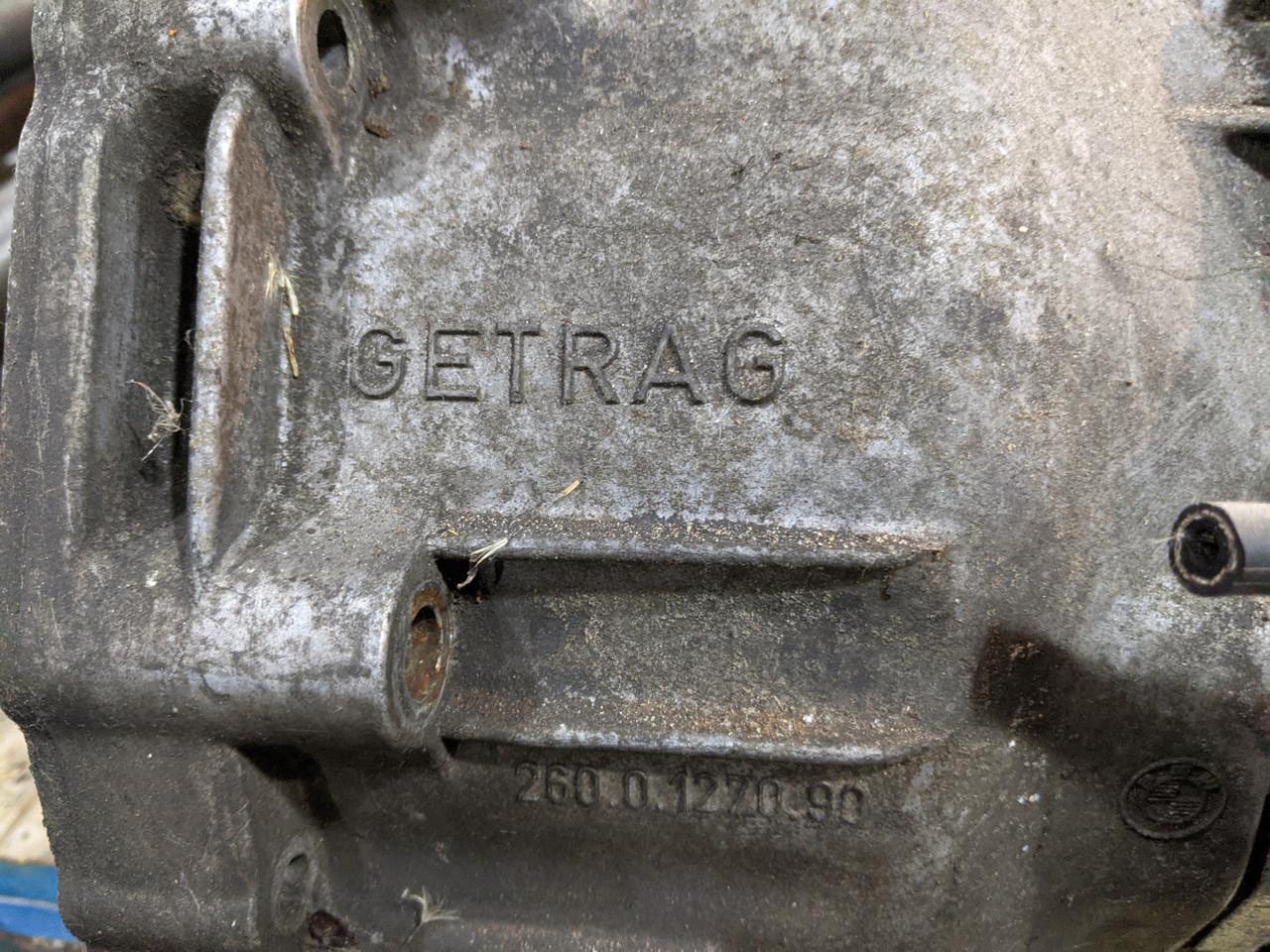 BMW E28/E30 3-Series 5-Series 5-Speed Manual Transmission Getrag 260/5 260.0.1270.90 23001221206