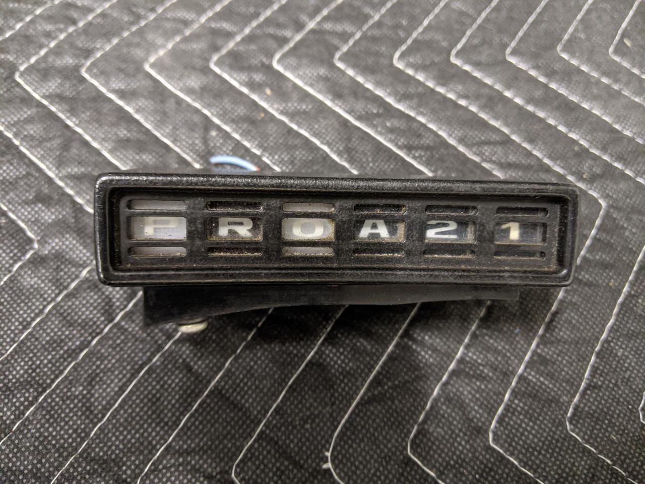 BMW 2.5CS/2800CS/3.0CS Automatic Transmission Gear Position Indicator 62141352334
