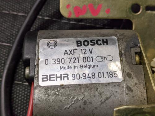 BMW E30 HVAC Motor W/ Right Side Bracket Bosch 0390721001