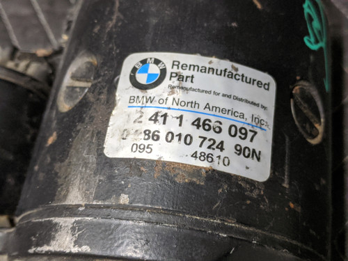 BMW E28/E30 3-Series 5-Series Starter Motor Bosch 12411466097