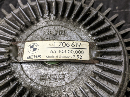 BMW E12/E21/E23 Fan Clutch Behr 11521706619