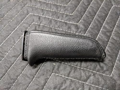 BMW E60/E81/E83/E84/E85/E90 Emergency Handbrake Lever Handle Black Leather 34408036495