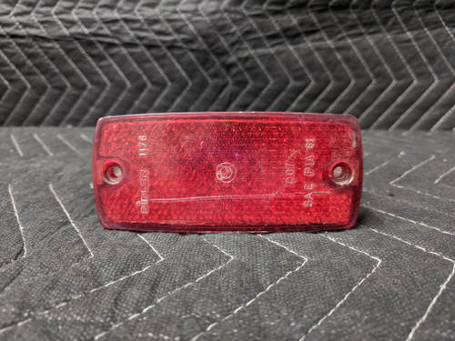 BMW E30 3-Series Side Marker Lens Red Sidler 1364174