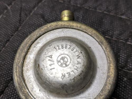 BMW E28 5-Series Pressure Reducer 13311286362