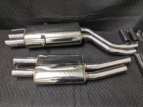BMW E46 3-Series Coupe OBX Racing Exhaust