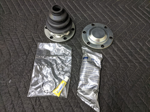 BMW E30 3-Series Rear Inner Drive Shaft CV Boot Repair Kit 33219067895