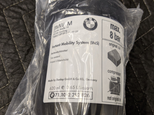 BMW E46/E60/E61/E63/E64/E90 Tire Mobility Inflating Bottle 71102282826