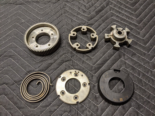 BMW E90/E92/E93 M3 S65 Engine Camshaft Adjustment Unit Outlet 11367841117