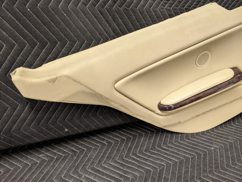 BMW E46 3-Series Coupe Rear Left Door Card Hellbeige 51438241431
