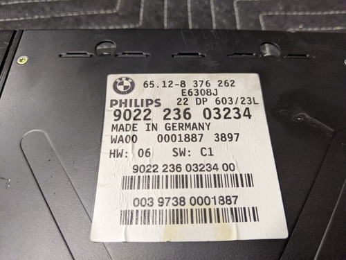 BMW E38/E39 5-Series 7-Series HiFi DSP Amplifier 65128376262