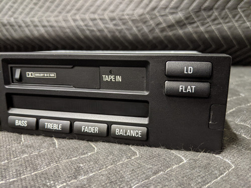 BMW E38 7-Series Radio Cassette Player C23 MID US 65128352868