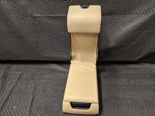 BMW E38 7-Series Rear Arm Rest Leather Beige 52208199855