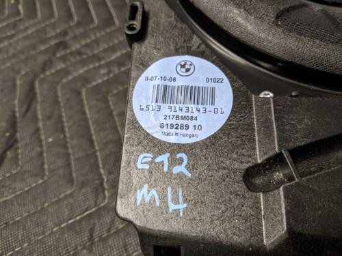 BMW E90/E91/E92/E93 3-Series Central Bass Speaker HiFi-System Left 65139143143