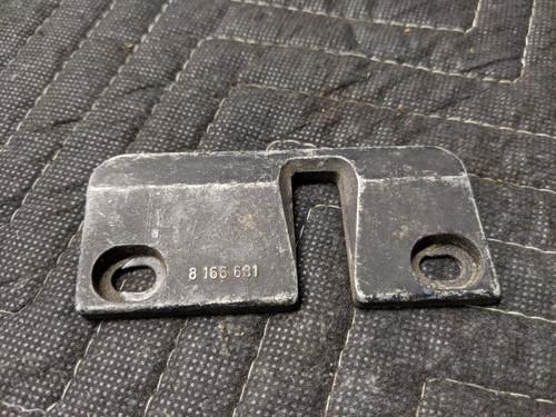 BMW E38 7-Series Hood Latch Center Striker Plate 51238166681