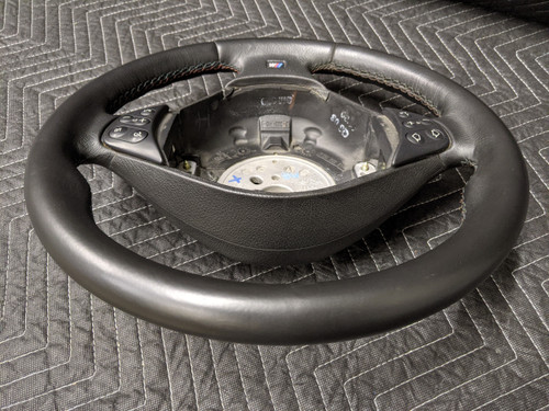 BMW E39 M5 Leather M-Sports Steering Wheel 32342229101