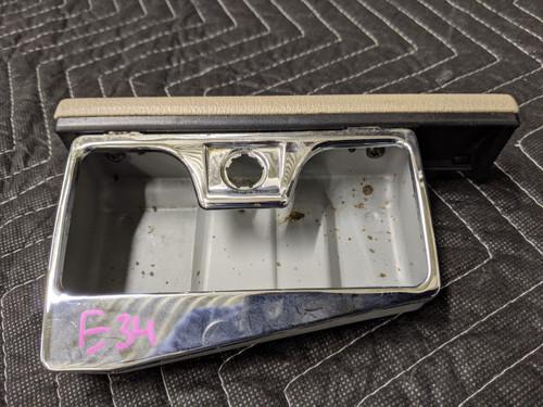 BMW E34 5-Series Ashtray Front Tan 51169061173