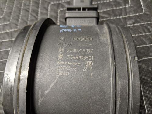 BMW E70 X5 Mass Air Flow Meter MAF Bosch 13627548103