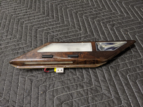 BMW E38 7-Series Interior Reading Light With Wood Rear Left 63318352607