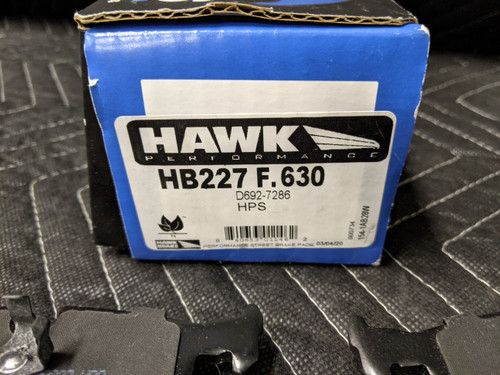 Hawk Performance HPS Brake Pad Set HB227F.630