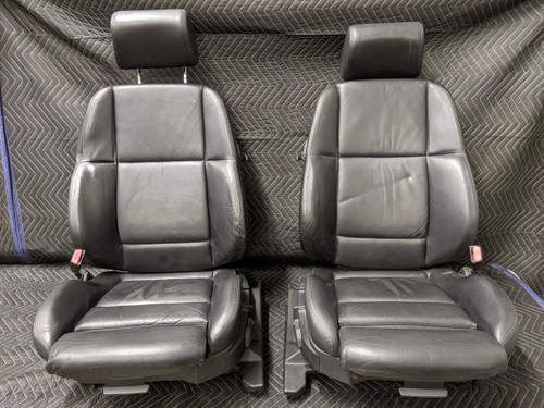 BMW E36 M3 Coupe Leather Luxury Sport Seats Black Power Heated