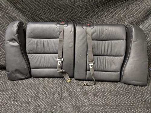BMW E36 M3 Coupe Leather Rear Seats Schwarz 52202252800