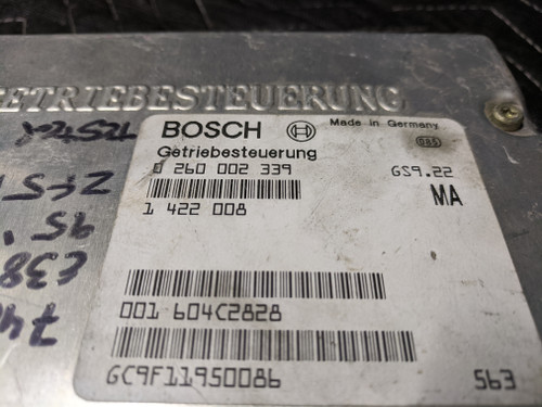 BMW E38 740i TCM EGS Transmission Control Unit W/ AGS Bosch 24601422008