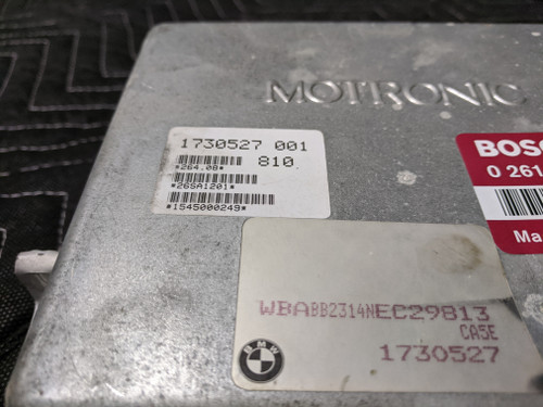 BMW E30/E34 DME ECU Motronic Engine Control Module Bosch 12141730527