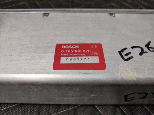 BMW E28 ABS Brake Control Module Bosch 0265100020