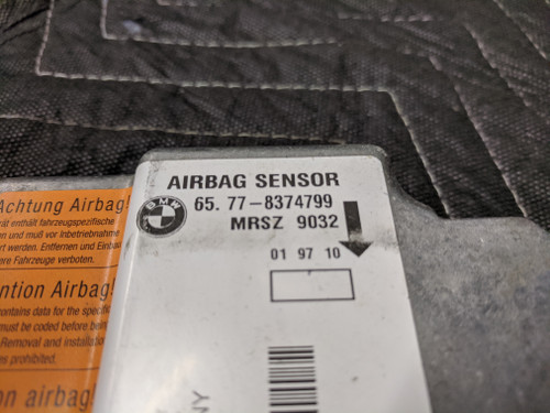 BMW E36/E38/E39/E46 Airbag Control Module 65778374799
