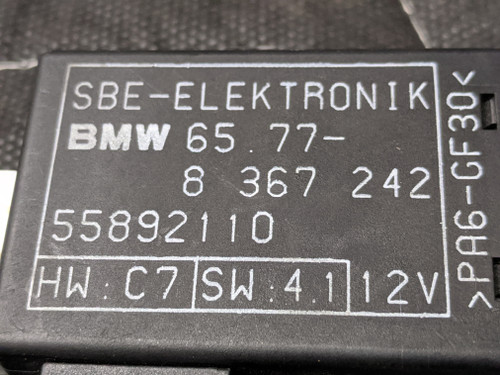 BMW E31/E34/E36/E46 Front Seat Occupancy Sensor Module 65778367242