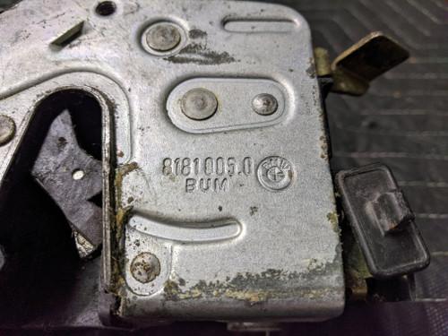 BMW E34 5-Series Door Lock Rear Left 51228181005