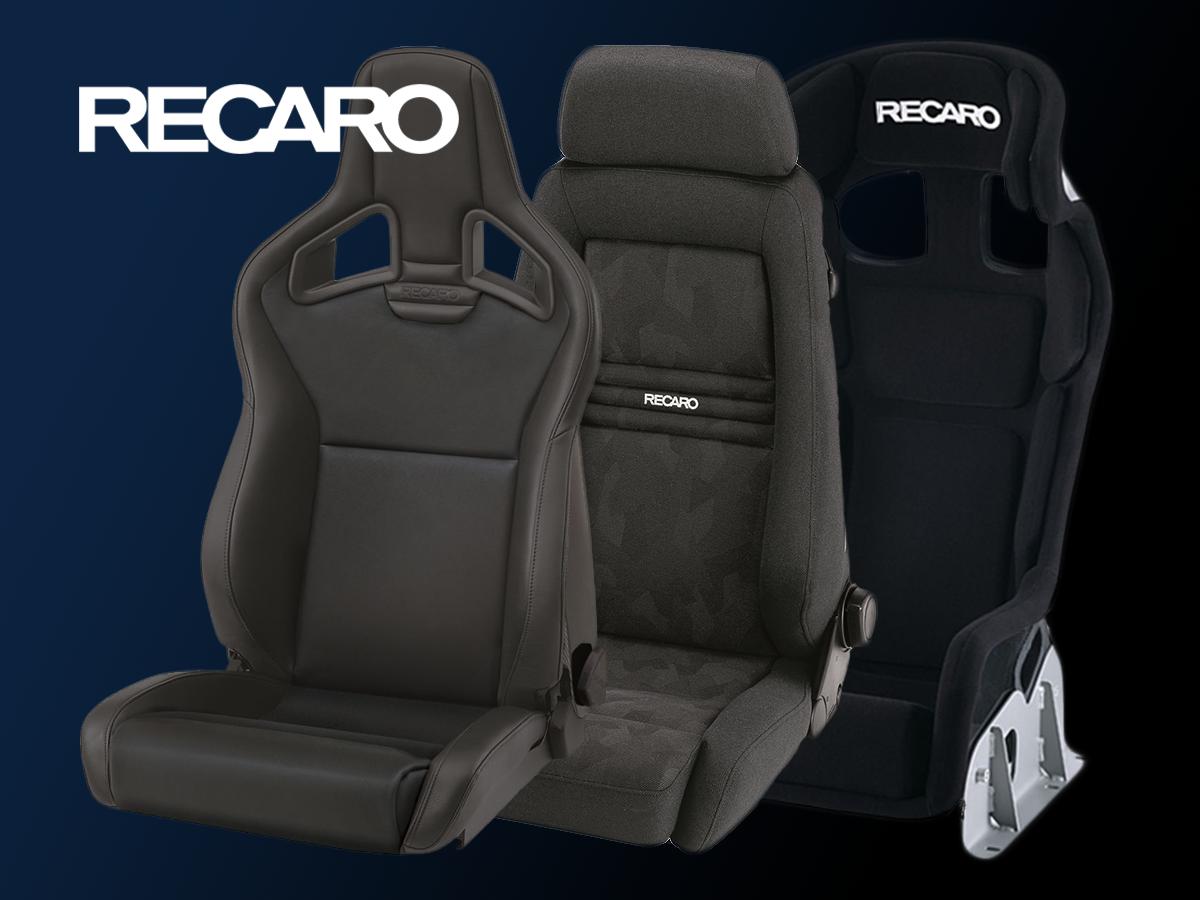 New product line: RECARO Seats!