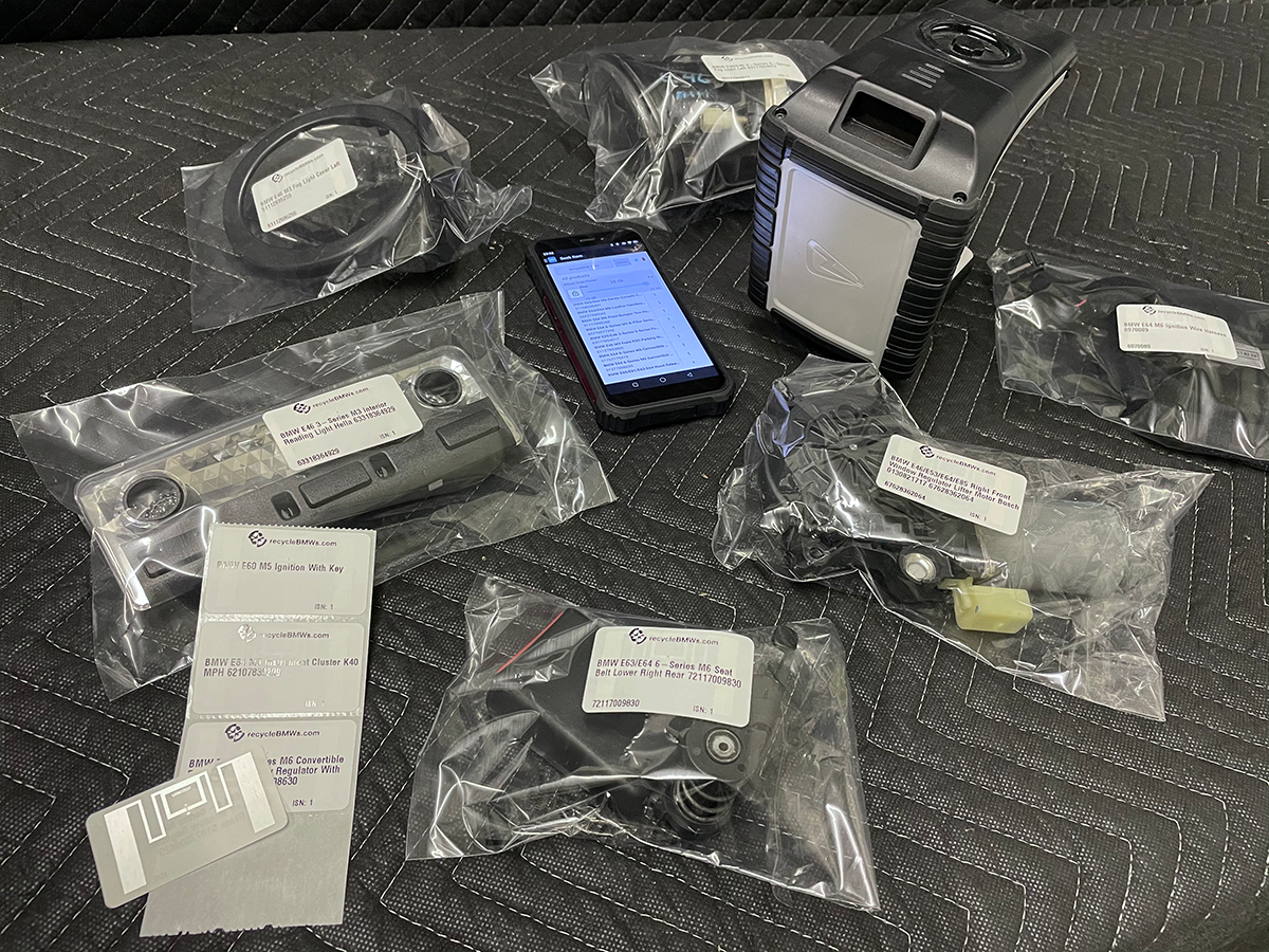 First Glimpse: RFID BMW Parts Inventory System