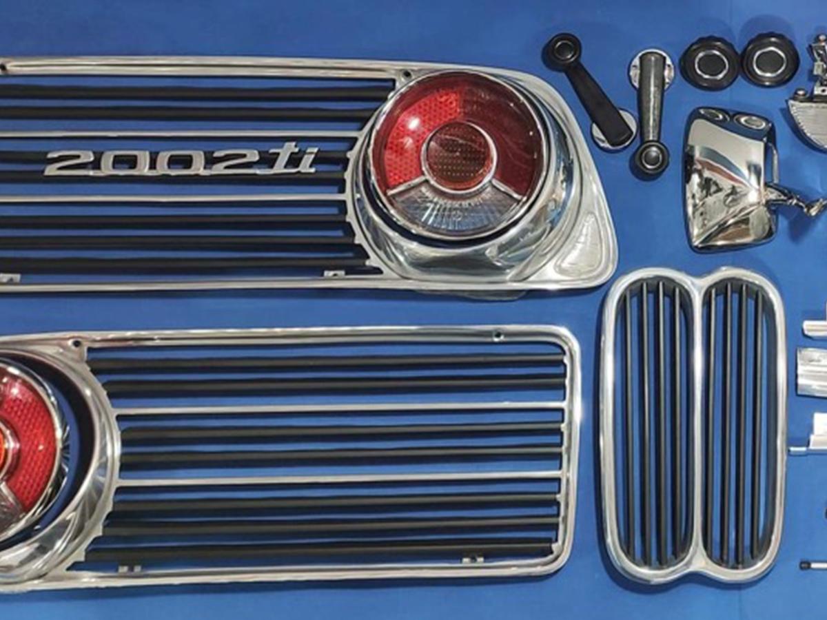 BMW 2002ti Restoration Service