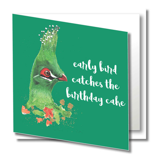 Wildest Life : Beautiful Finest Quality Greeting Card , Printed on 300gsm board , Bright and vibrant , Supplied with  quality white envelope in a protective cello sleeve
