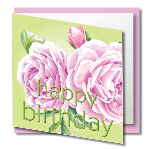 Quality Card, Brilliant Colours - Printed on 300gsm smooth paper with a luxury Finish Supplied with  quality CREAM envelope in protective Cello