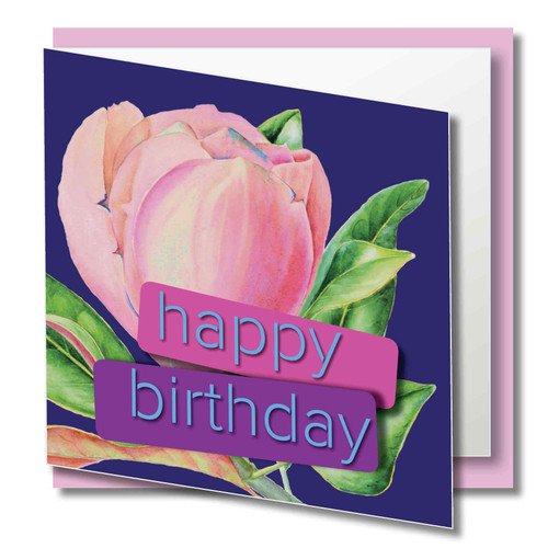 Quality Card, Brilliant Colours - Printed on 300gsm smooth paper with a luxury GLOSS Laminated Finish Supplied with  quality CREAM envelope in protective Cello