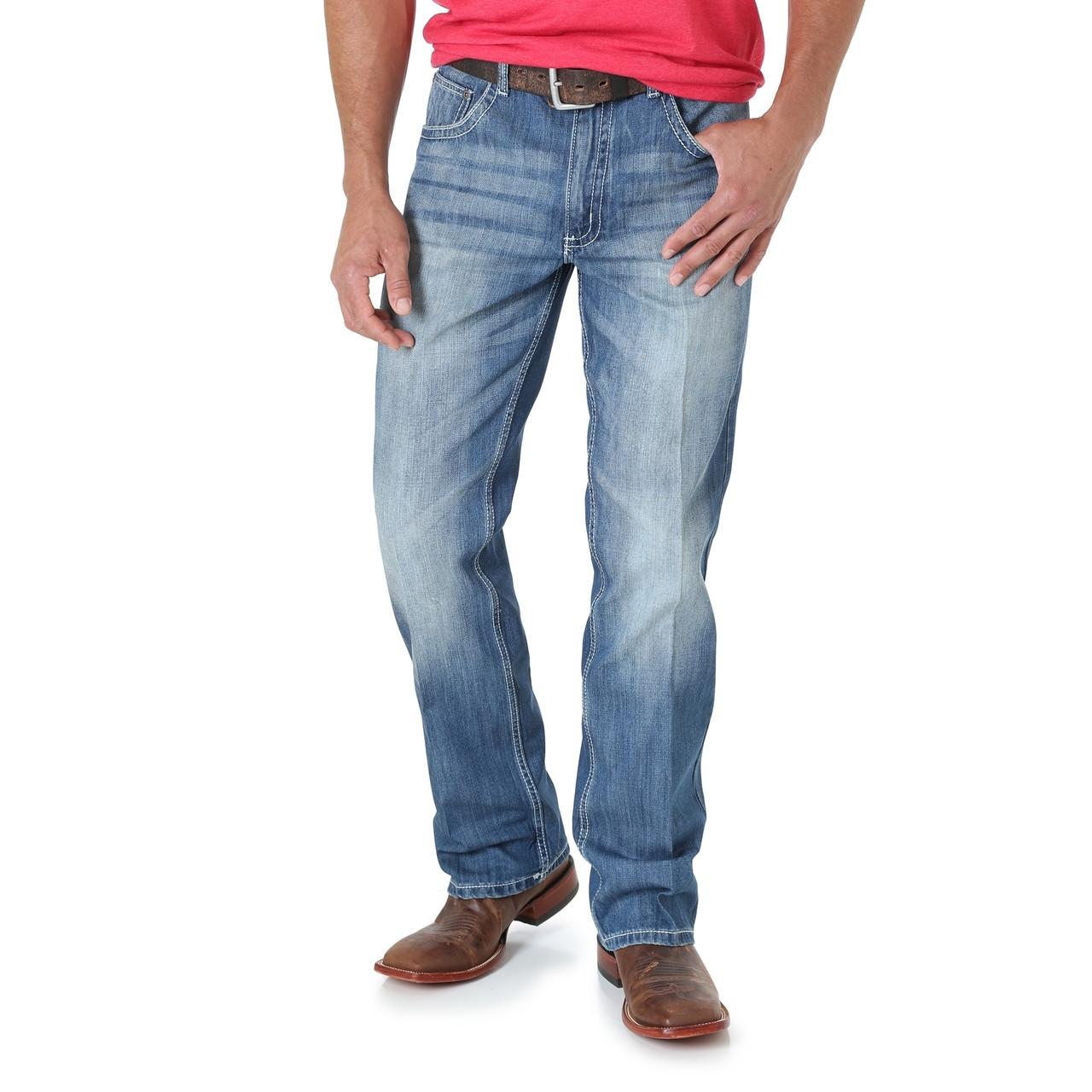 Wrangler Mens Size Tall 20x Vintage Bootcut Jean