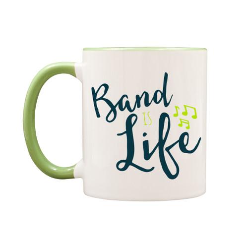 Band is life mug