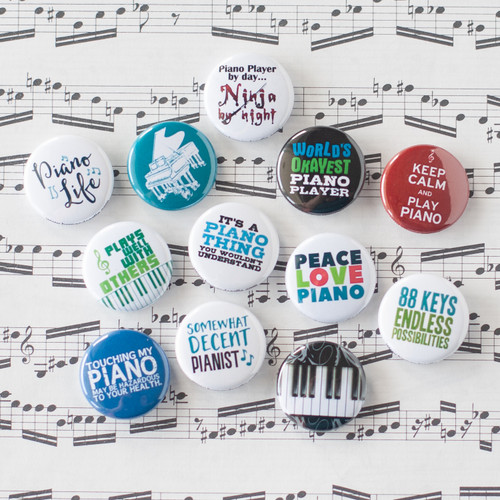 Piano button set