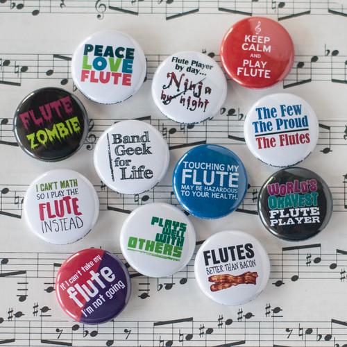 Flute button set
