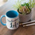 Orchestra is Life mug with blue handle