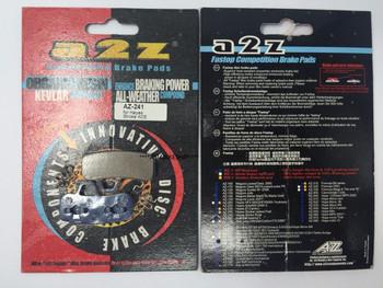 A2Z AZ-241 FOR HAYES STROKE ACE DISC BRAKE PAD