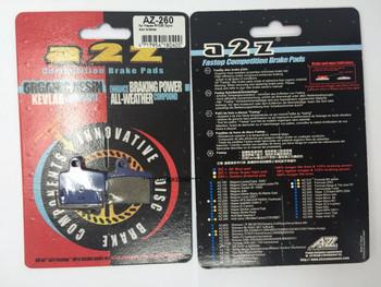 A2Z AZ-260 HAYES RYDE/DYNO DISC BRAKE PAD
