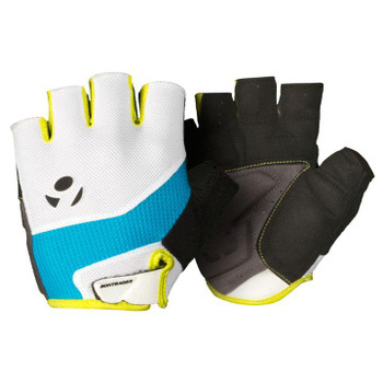 BONTRAGER SOLSTICE GLOVE-CYAN/HOT GREEN-2XL