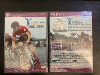 CYCLING FITNESS RESULTS PEDALING TECHNIQUE DVD