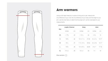 BONTRAGER THERMAL ARM WARMER-BK
