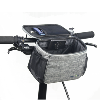 DAHON HANDLE BAR BAGS DH-1042 - GREY